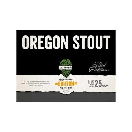 ABC Oregon Stout bryggesett