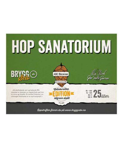 ABC Hop Sanatorium bryggesett