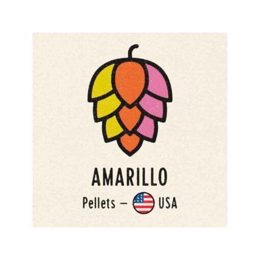 Amarillo humle pellets. 100g. Ølbrygging