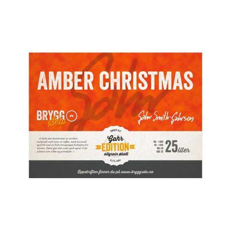Amber Christmas Bryggesett