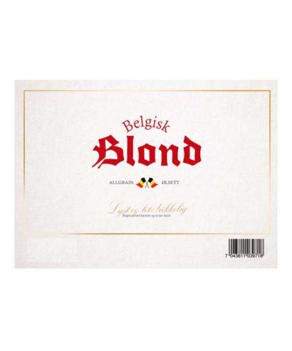Belgisk Blond ølsett