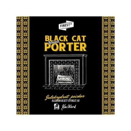 Black Cat Spiced Porter bryggesett