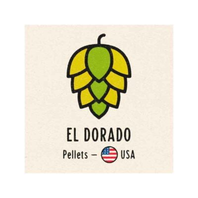 El Dorado humle 100g. Passer godt til NEIPA