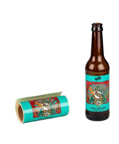 Etiketter til Ink & Dagger ølsett