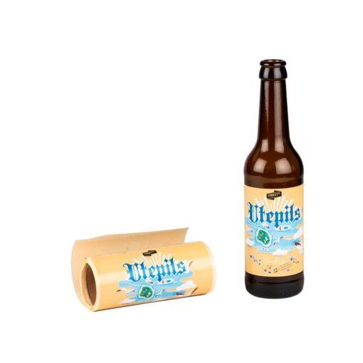Etiketter til utepils bryggesett