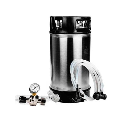 Fatpakke med 19L fat og sodastream regulator