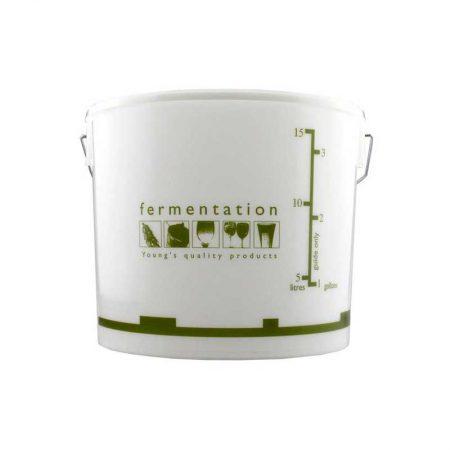 Gjæringsbøtte. 15 Liter