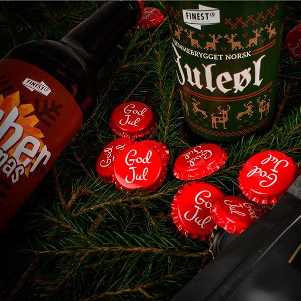 Julekorker til ølet ditt