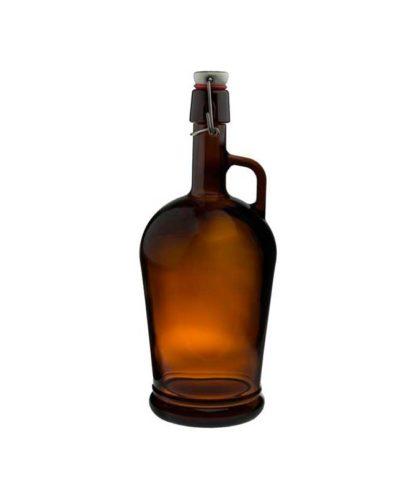 Growler 2 liter. Med patentkork