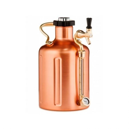GrowlerWerks uKeg 128. kobber. 3,8l