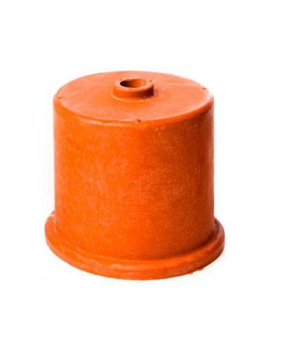 Gummihette. 50mm. 9mm hull