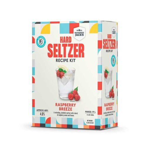 Hard Seltzer Raspberry fra Mangrove Jack's
