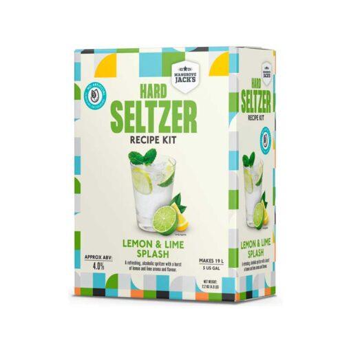 Hard Seltzer Lemon & Lime fra Mangrove Jack's
