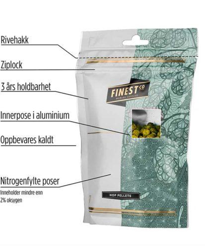 Humlepose Nitrogen ziplock