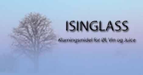 ISINGLASS Klarningsmiddel