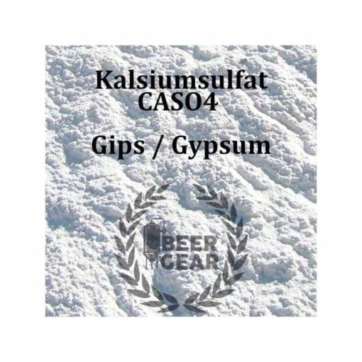 Kalsiumsulfat gips for å senke pH