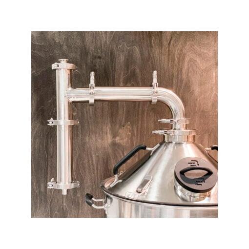 Kondensator for damp til avtrekkshatt Brewtools