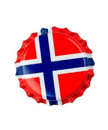 Korker. Norsk flagg 100 stk