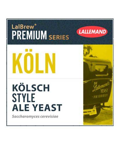 Lallemand Köln 11g passer perfekt til å brygge det Tyske ølet fra Køln