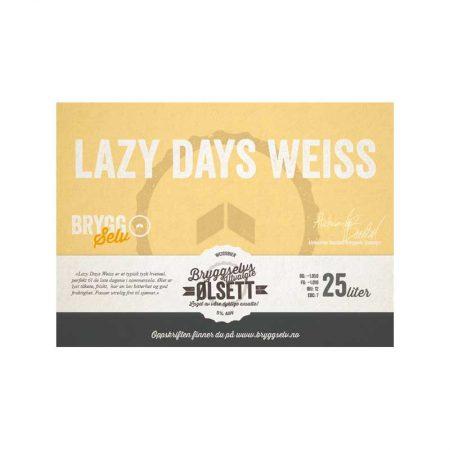 Lazy Days Weiss