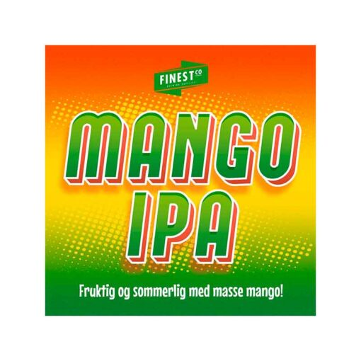 Mango IPA med masse mango smake