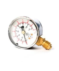 Manometer 10 bar. Til CO2