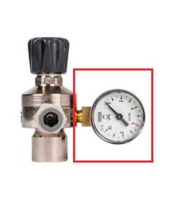 Manometer for regulator til sodastream. Reservedel