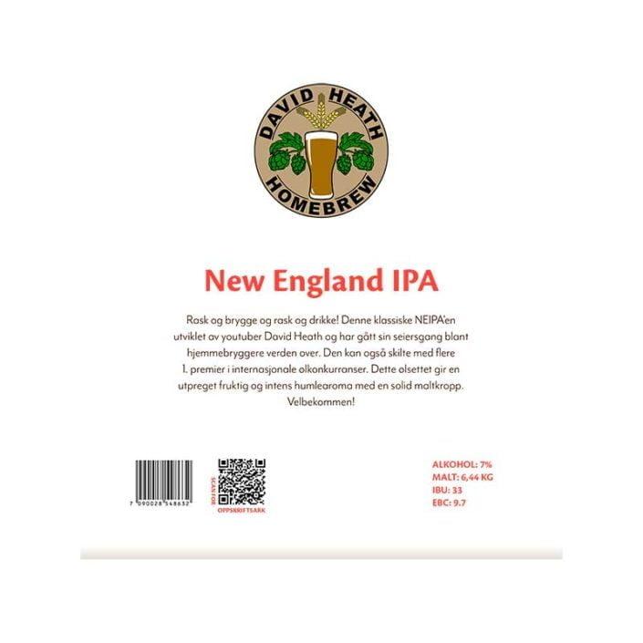 New England IPA allgrain ølsett fra David Heath