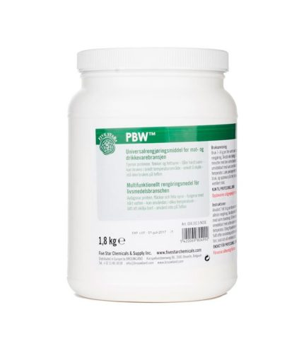 PBW-1,8kg. Stor boks