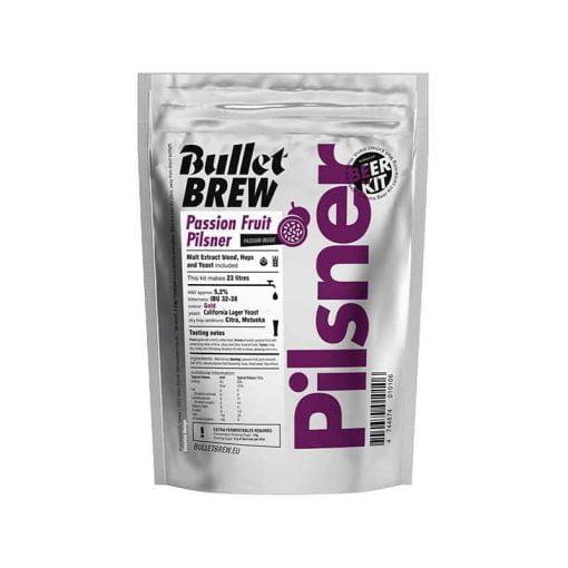 Passion Fruit Pilsner ekstraktsett fra Bullet Brew