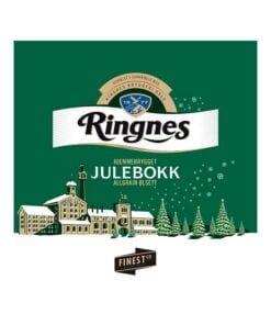 Ringnes ølsett. Julebook
