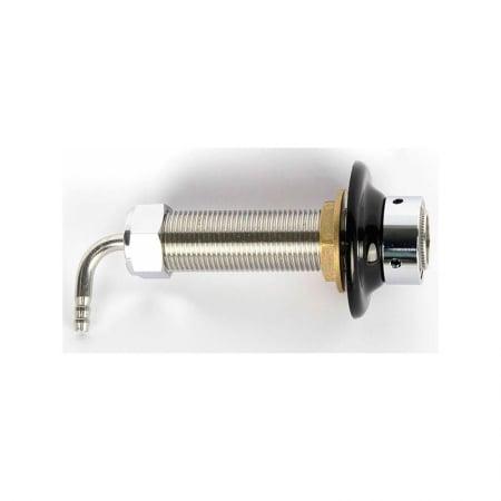 Shanks. Gjennomføring 10 cm i rustfritt stål. Passer perlik og intertap