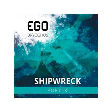 Shipwreck bryggesett EGO Brygghus