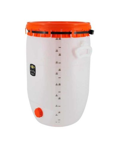 Liter og gallon Skala til 60 liter Speidel gjæringskar