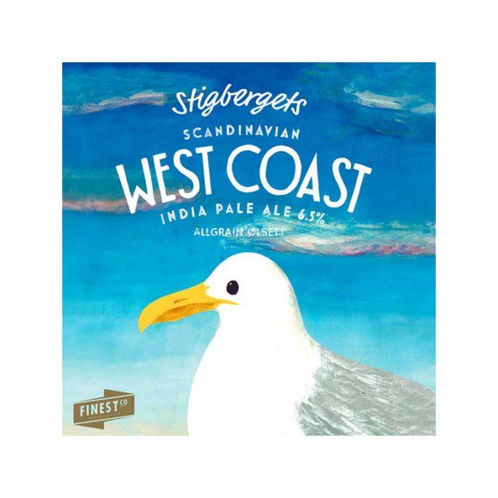 Stigbergets West Coast IPA er en herlig IPA fra Sverige