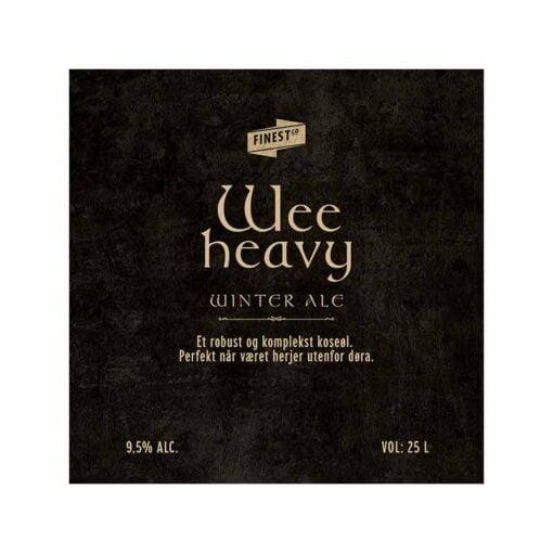 Wee Heavy Winter Ale allgrain ølsett