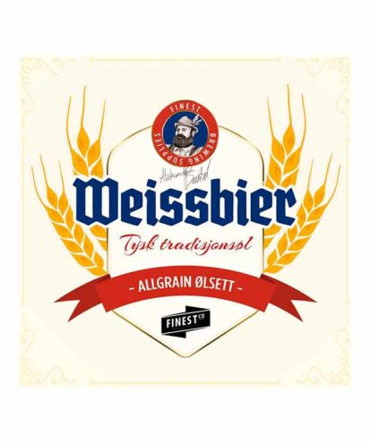 Weissbier bryggesett for ølbrygging