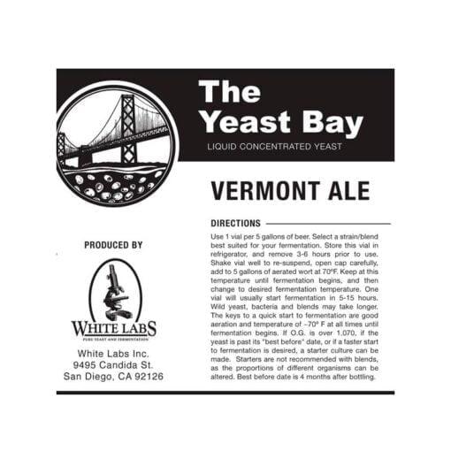 Yeast Bay Vermont Ale gjær