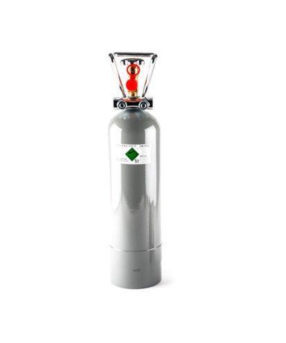 CO2 flaske. 2 kg. Med CO2.